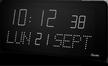 Horloge à LEDS affichage calendrier